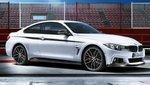 BMW M Performance dorpelopzetstukken mat zwart F32/F33/F36