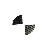 Carbon stickerset naafdop 56MM_