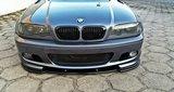 Frontlip hoogglans zwart E46 coupe cabrio_