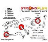 Strongflex draagarm rubber E60/E61, E63/E64, E65/E66 - Red_
