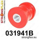 Strongflex voorste subframe rubber E60/E61, E63/E64 - Red_