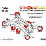 Strongflex subframe rubber X5 E53 - Red_