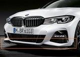 M Performance Frontspoiler zwart - BMW G20_