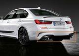 M Performance diffuser zwart - BMW G20_