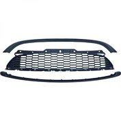 MINI Grill JCW-look mat zwart (R55 R56 R57) 10-13