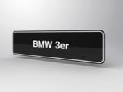 BMW 3er Showroomplaten