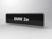 BMW 2er Showroomplaten