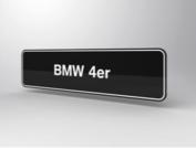BMW 4er Showroomplaten