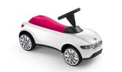 BMW Baby Racer III wit/roze