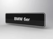 BMW 6er Showroomplaten