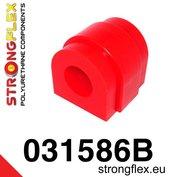 Strongflex stabilisatorstang rubber vooras E8x, E46 M3, E9x, E60/E61, X Serie, Z4 - Red
