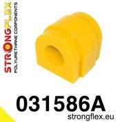 Strongflex stabilisatorstang rubber vooras E8x, E46 M3, E9x, E60/E61, X Serie, Z4 - Yellow