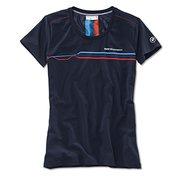T-shirt dames Motorsport blauw maat M