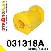 Strongflex stabilisatorstang rubber vooras E30 - Yellow