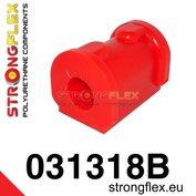 Strongflex stabilisatorstang rubber vooras E30 - Red