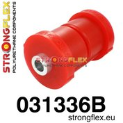 Strongflex subframe rubber achteras E30 - Red