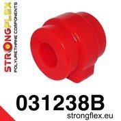Strongflex stabilisatorstang rubber vooras E38 E39 - Red
