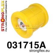 Strongflex subframe rubber achteras E39 sedan - Yellow