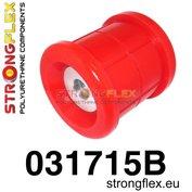 Strongflex subframe rubber achteras E39 sedan - Red