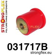 Strongflex voorste differentieel rubber E39 - Red