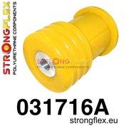 Strongflex subframe rubber achteras E39 touring - Yellow