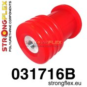 Strongflex subframe rubber achteras E39 touring - Red