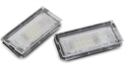 Set LED kentekenplaat verlichting E46 coupe cabrio 03/03- facelift