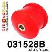 Strongflex voorste draagarm rubber E9x X1 E84 xDrive 4x4 - Red