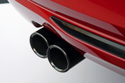 BMW uitlaatsierstukken zwart/chroom F07GT F10/F11