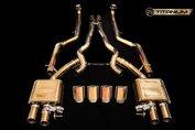 iPE uitlaatsysteem BMW M5 (F10) Full Titanium Line