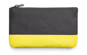MINI Small Pouch Grey-Lemon