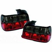 Achterlichten set smoke/red E36 Compact
