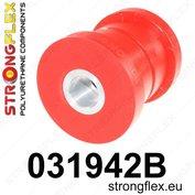 Strongflex achterste subframe rubber E60/E61, E63/E64 - Red