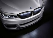 Grille Iconic Glow Black G30/G31