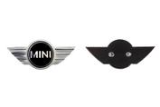 MINI Wing motorkap logo (R52 R53 Cooper S)