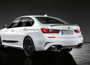 M Performance diffuser zwart - BMW G20