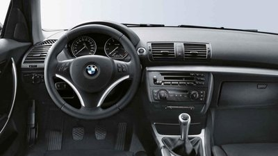 BMW Stuur afdekking zwart met chroomdetails E92LCI,E93LCI