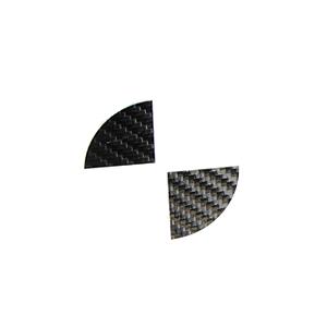 Carbon stickerset naafdop 56MM
