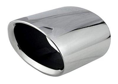 Uitlaatsierstuk ovaal chroom - E90, E91