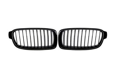 Grille hoogglans zwart met matzwarte grille spijlen F30/F30LCI F31/F31LCI