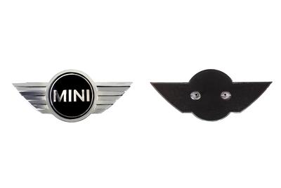 MINI Wing motorkap logo (R50 R52 One, Cooper modellen)