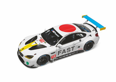 ART CAR BMW M6 GTLM John Baldessari 1:18