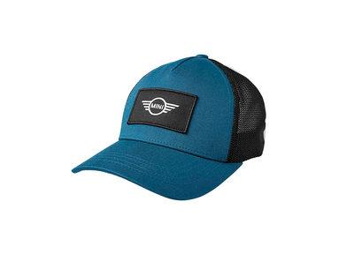MINI Logo Patch Trucker Cap Blauw