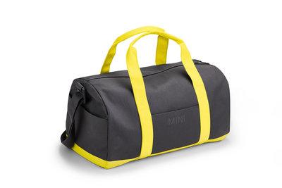 MINI Duffle Bag Grey-Lemon
