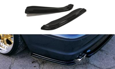 Achterbumper corners hoogglans zwart E46 coupe cabrio