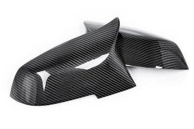 Carbon 'M-look' spiegelkappen F2x F3x