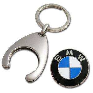 BMW sleutelhanger munt