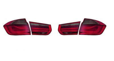 Achterlichten set LED smoke/red (facelift upgrade) F30
