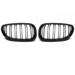 Dubbelspaak grille mat zwart E60/E61