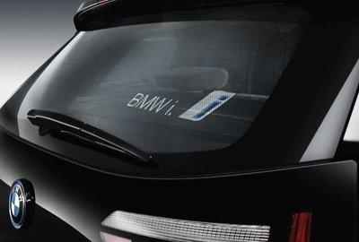 Zonwering achterruit - BMW i3